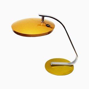 Lampada da scrivania bicolore di Fase, anni '60