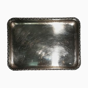 Vintage Silbertablett