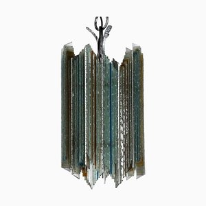 Vintage Suspended Ceiling Lamp from Poliarte, 1970s