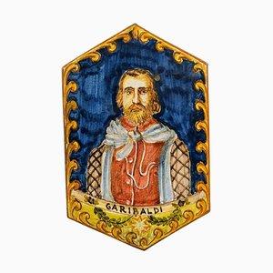 Garibaldi Portrait Majolica, Keramik, Made in Italy
