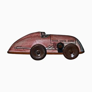 Small Vintage German Wind Up Car Toy, 1950s