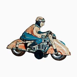 Vintage HKN Motorcyclist Toy by Huki Kienberger, 1950s