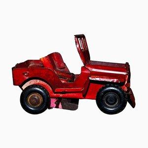 Vintage Wind Up Jeep Auto Spielzeug