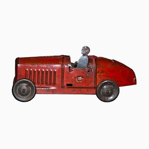 Small Vintage Red Car Toy