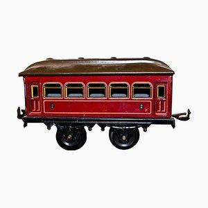 Vintage German Karl Bub 7-Window Passenger Coach Toy