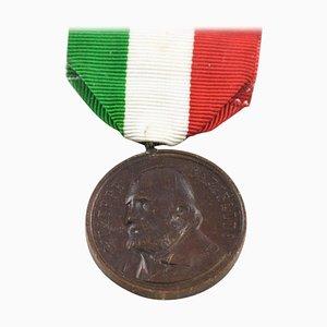 Italienische Garibaldi Bronzemedaille, 1902