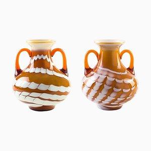Mid-Century European Amphoras, Set of 2