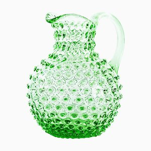 Vintage Italian Glass Pitcher