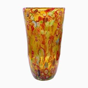 Vintage Murano Glass Vase, 1980s