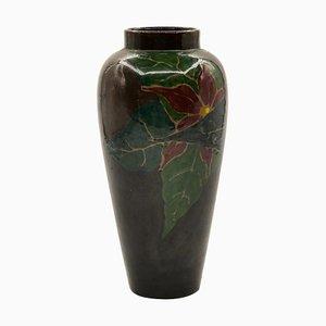 Niederländische Vintage Vase aus Terrakotta von Plateelbakkerij Schoonhoven, 1930er