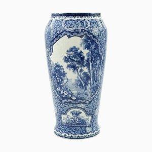 Stoneware Vase from Franz Anton Mehlem, 1900s