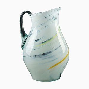 Northern European Glass Carafe, 1980s