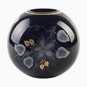 Glänzende Vintage Vintage Vase aus Nordeuropa