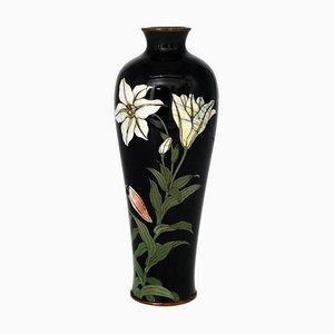 Japanische Vintage Cloisonné Vase