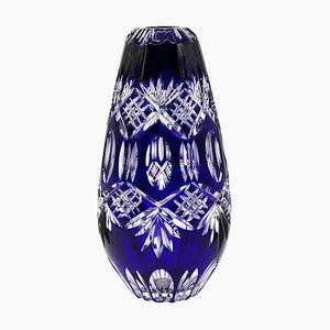 Vintage Mid-Century Crystal Vase