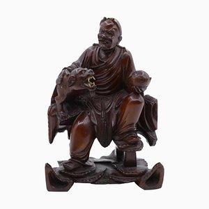 Chinesische Vintage Lohan Figurine