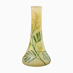 Französische Art Nouveau Vase von Legras & Cie