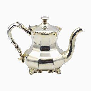 Versilberte Amerikanische Vintage Teekanne von Reed & Barton