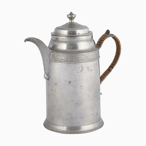 Vintage German Jugenstil Coffee Pot by Jacob Heinrich Weiss