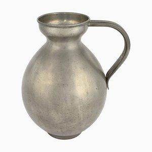 Vintage German Pewter Vase with Handles by Harald Buchrucker, 1930s