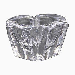Vase Vintage en Cristal par Alvar Aalto, 1980s
