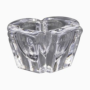 Vintage Crystal Vase by Alvar Aalto, 1980s
