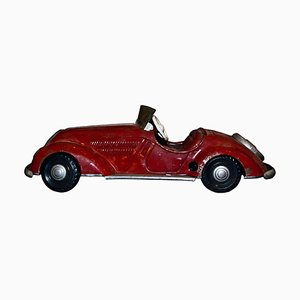 Großes Vintage Wind Up Auto Spielzeug, 1940er