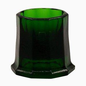 Pressed Glass Egg Cup by Karel de Bazel for Leerdam Glass Factory, 1920s