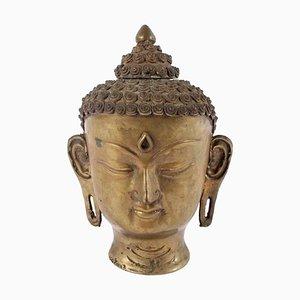 Indischer Vintage Buddha Kopf