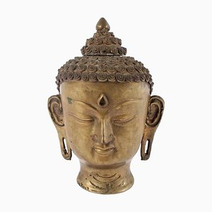 Tête de Bouddha Vintage, Inde
