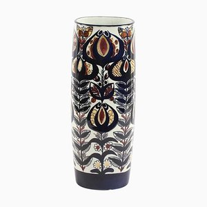 Vintage Faience Vase by Berte Jessen for Royal Copenhagen, 1968