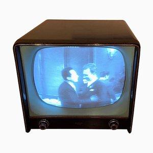 Vintage Modell 2207 Fernseher von Siemens, 1957