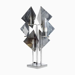 Space Age Rhombus Table Lamp, 1970s
