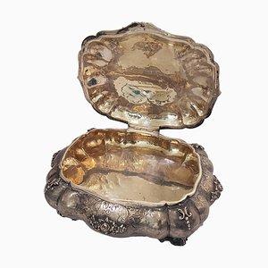Vintage Silver Jewel Box