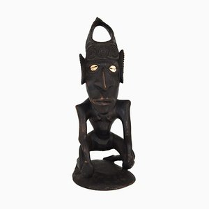 Vintage Wooden Figurine from Papua New Guinea