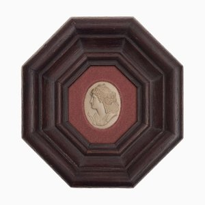 Antikes neoklassizistisches italienisches Cammeo Relief
