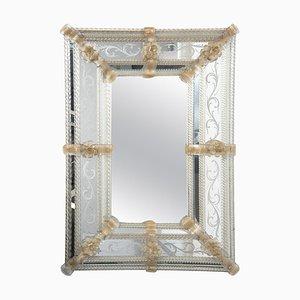 Vintage Murano Glas Spiegel