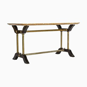 Vintage Italian Marble Side Table, 1950s