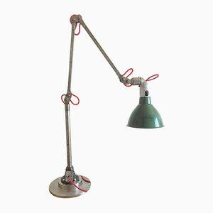 Lámpara de mesa industrial vintage de Mek Elek