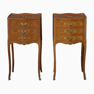 Bedside Cabinets, 1950s, Set of 2