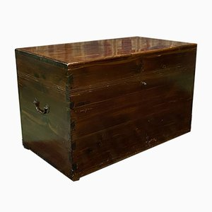 English Yew Tree Chest, 1930s