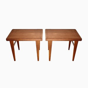 Mid-Century Teak Side Tables from DS Möbler DIÖ Sweden, Set of 2