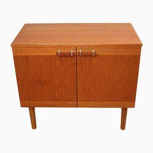 Vintage Teak Wooden TV Cabinet, 1960s