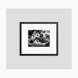 Elizabeth Taylor's Fans Archival Pigment Print Framed in Black by Bettmann