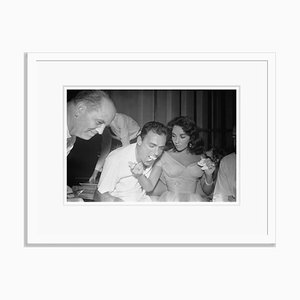 Taylor Todd Wedding Archival Pigment Print Framed in White by Bettmann