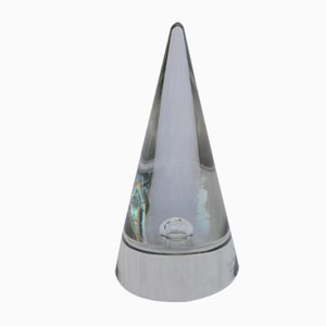 Vintage Glass Cone Object by Alfredo Barbini for Murano