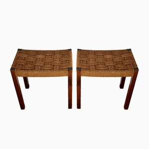 Stools from Gemla Fabrikers AB, 1950s, Set of 2