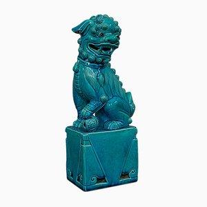 Vintage Orientalischer Keramik Foo Hund Statue, 1950er
