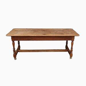 Antique Oak Farmhouse Dining Table