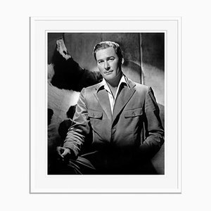 Brooding Flynn Archival Pigment Print Framed in White by Everett Collection